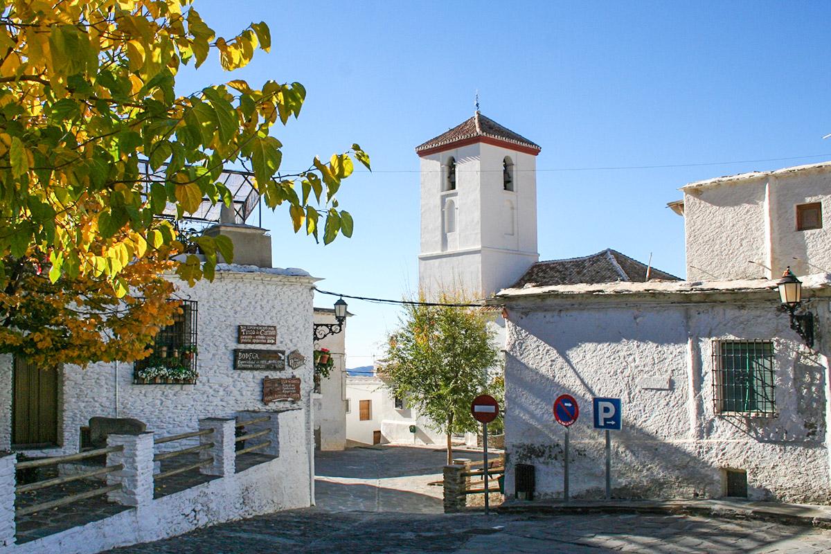 Kirche in Capilleira