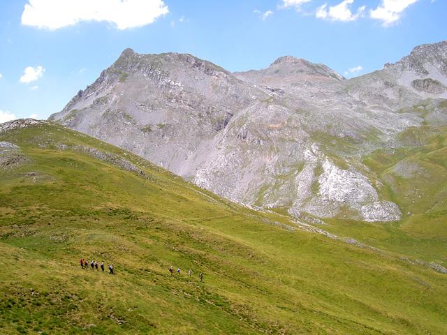 alter Schmugglerpfad in den Pyrenäen