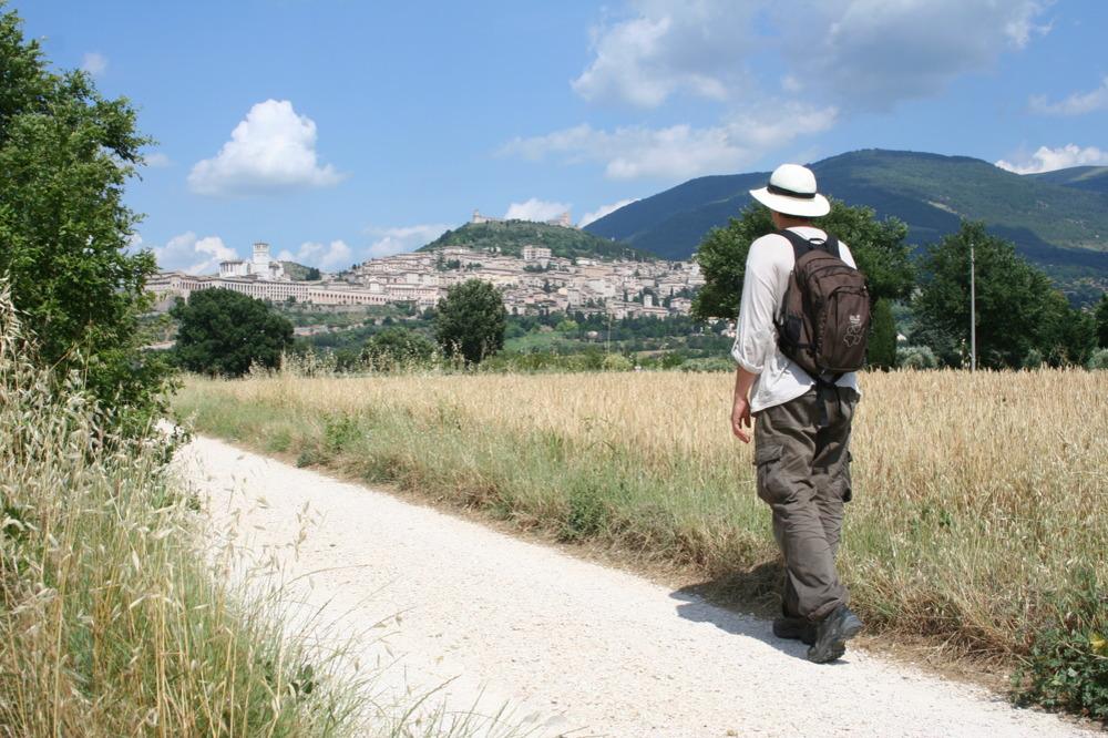 Franziskusweg Assisi