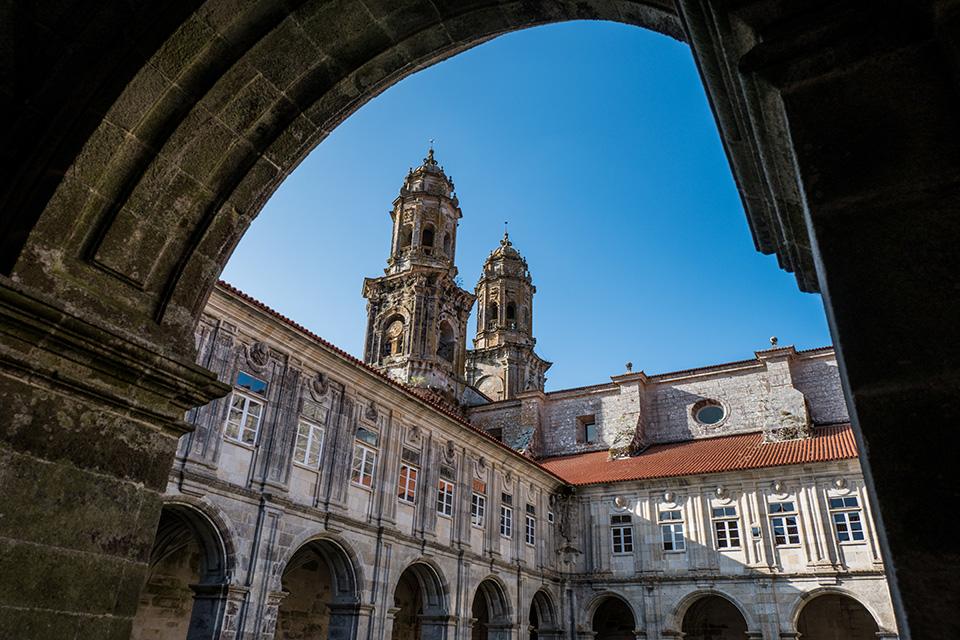 Das Kloster in Sobrado dos Monxes