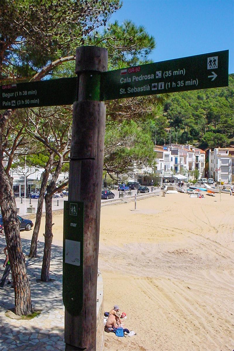 Wanderpfad Costa Brava