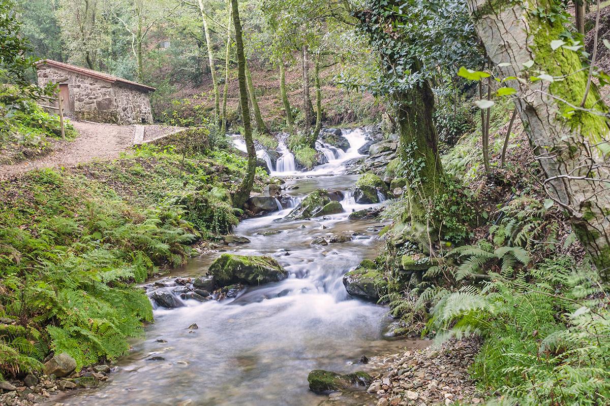 Armenteira Fluss
