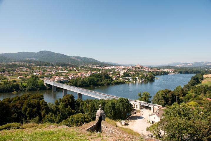Brücke über den Rio Minho