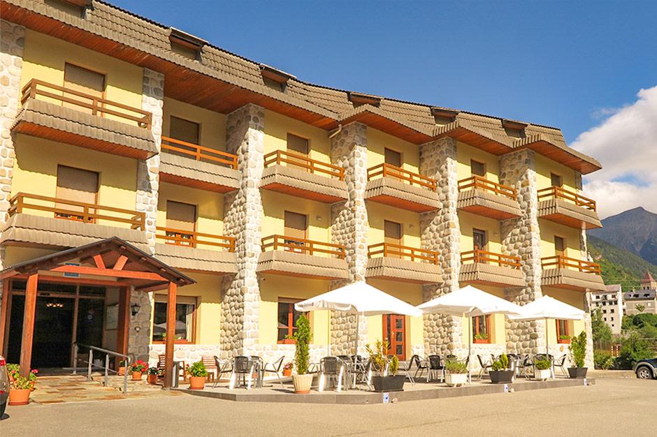Eingangsbereich vom Hotel*** Bielsa