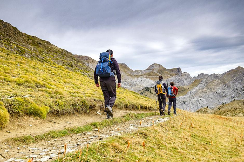 Wanderung zum Petrachema-Pass