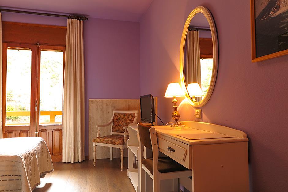 Zimmer im Hotel Bielsa