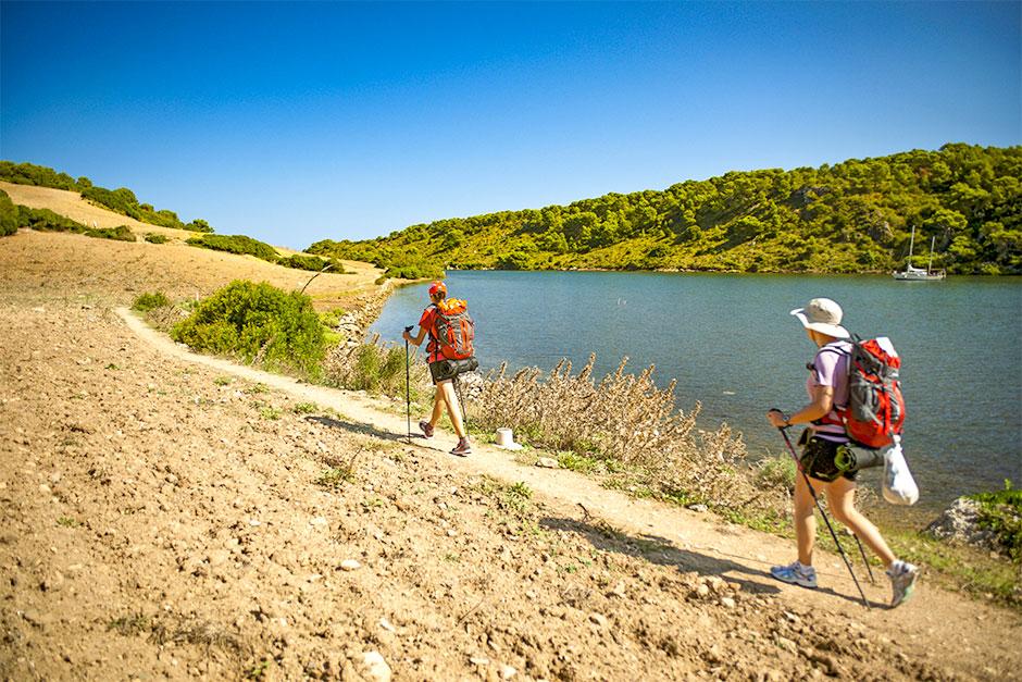 Wanderung im Naturschutzgebiet Les Salines d´Addaia