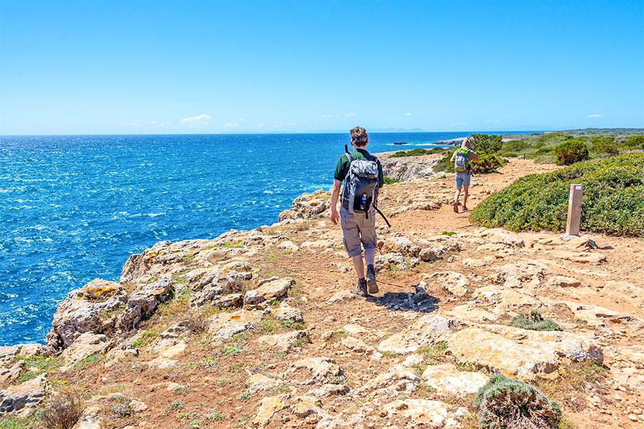 Wanderung von Son Xuriguer nach Cala Caldana