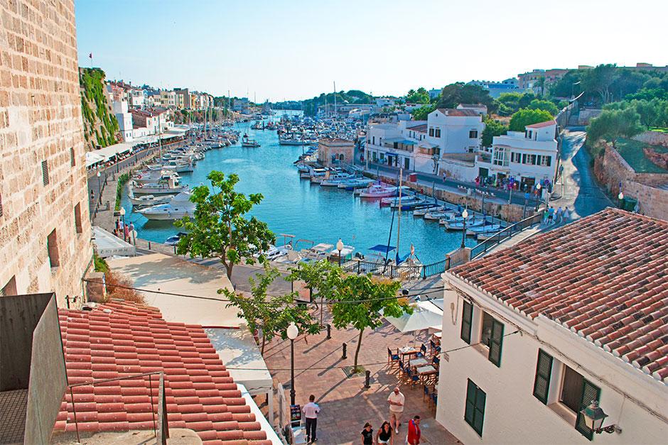 Menorcas zweitgrößte Stadt Ciutadella
