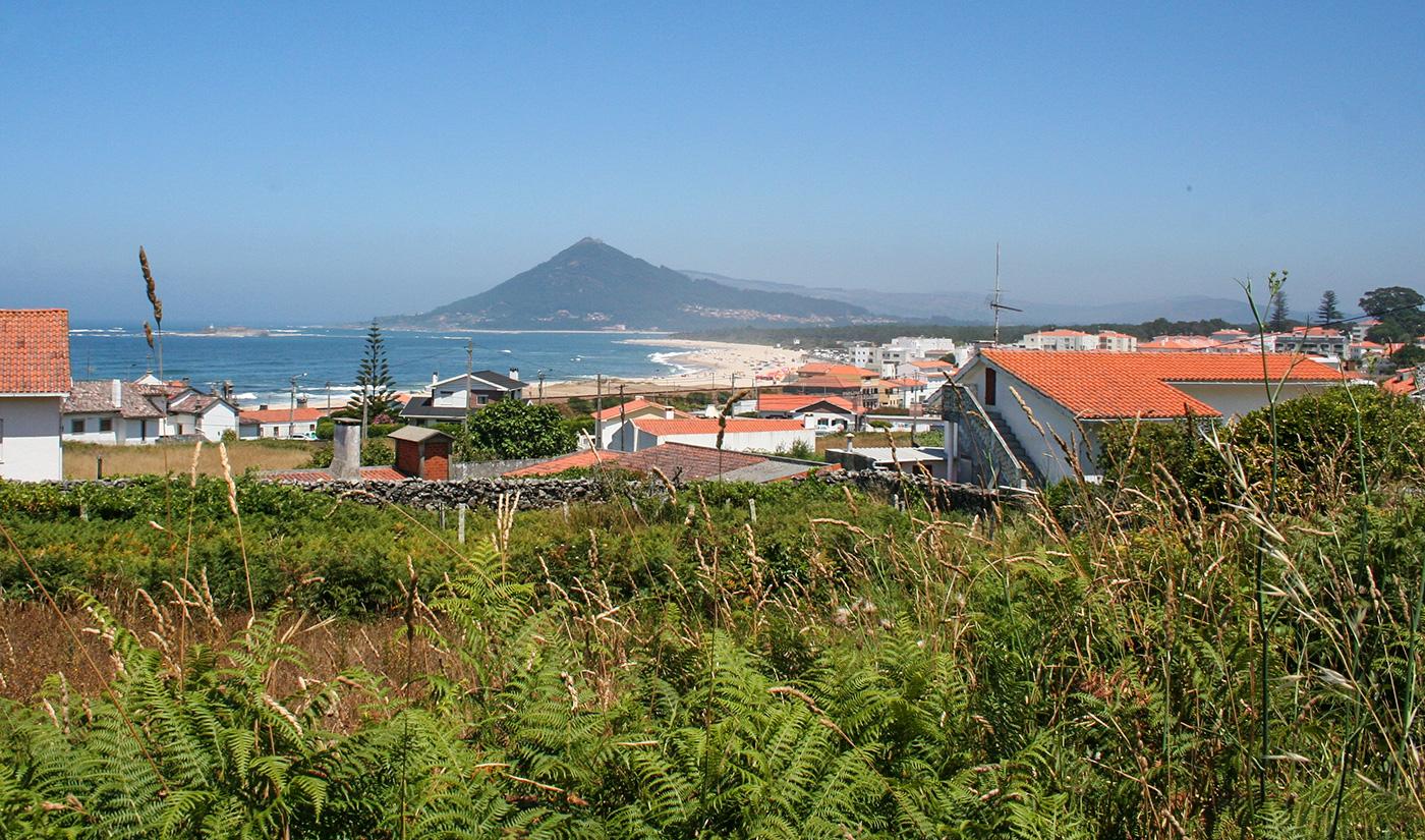 Kurz vor Caminha auf dem Camino Portugues de la Costa