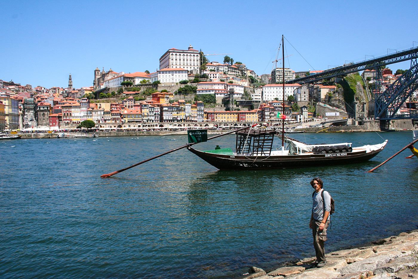 Porto: Douro, Brücke Dom Luis 1 und Altstadt