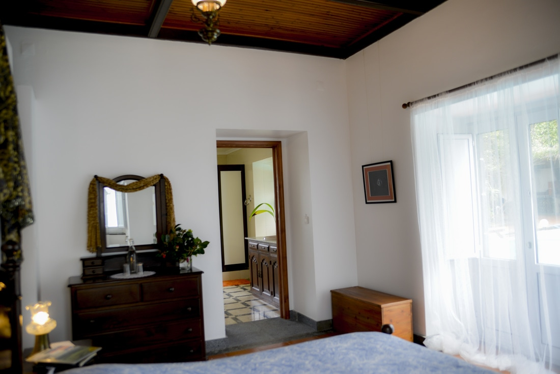 Quinta Minuvida_Suite Taro Blick vom Schlafzimmer