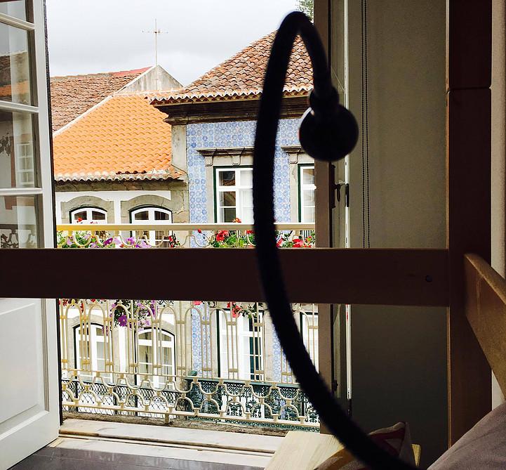 Globo Happy Hostel_Ausblick vom Schlafsaal