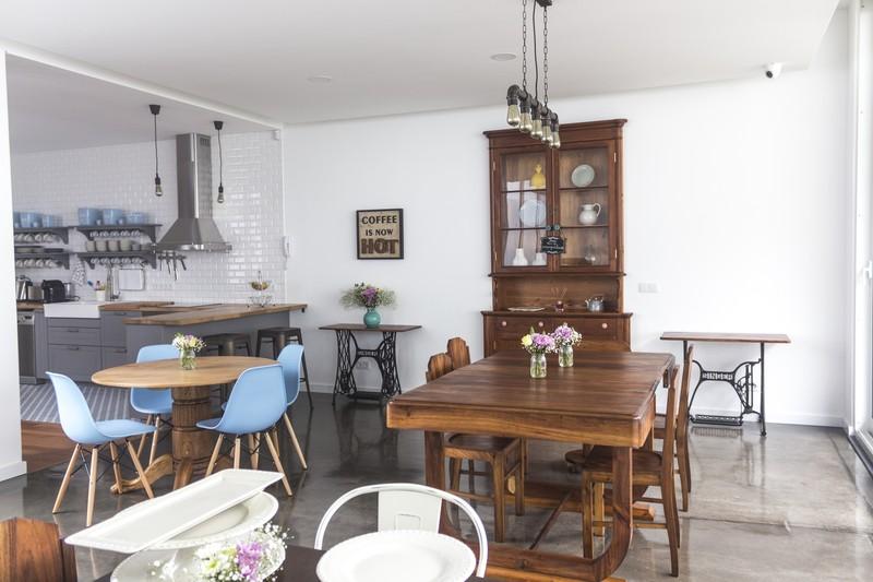 My Angra Boutique Hostel_Küche mit Speisebereich
