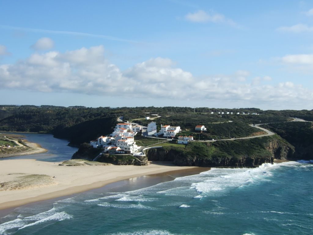 Portugal, Alentejo, Bucht