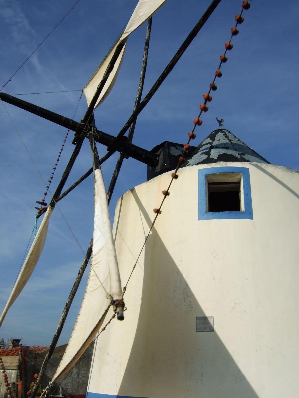 Portugal, Alentejo, Windmühle