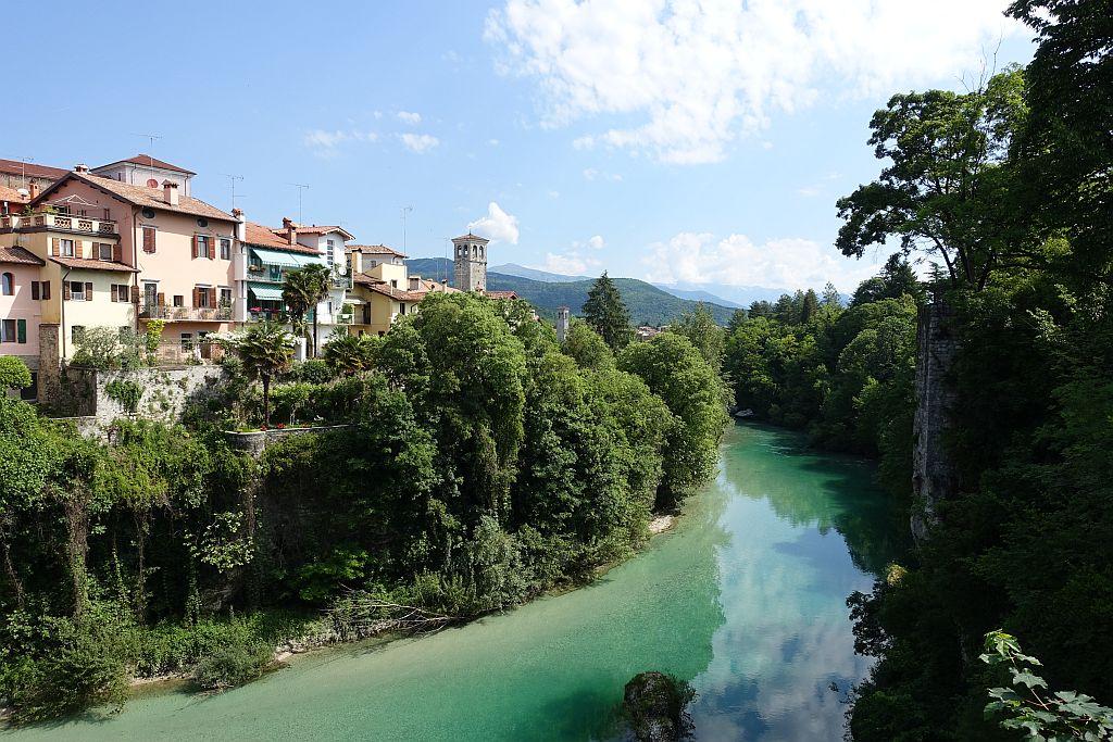 Wandern Italien Friaul - Cividale mit Natisone