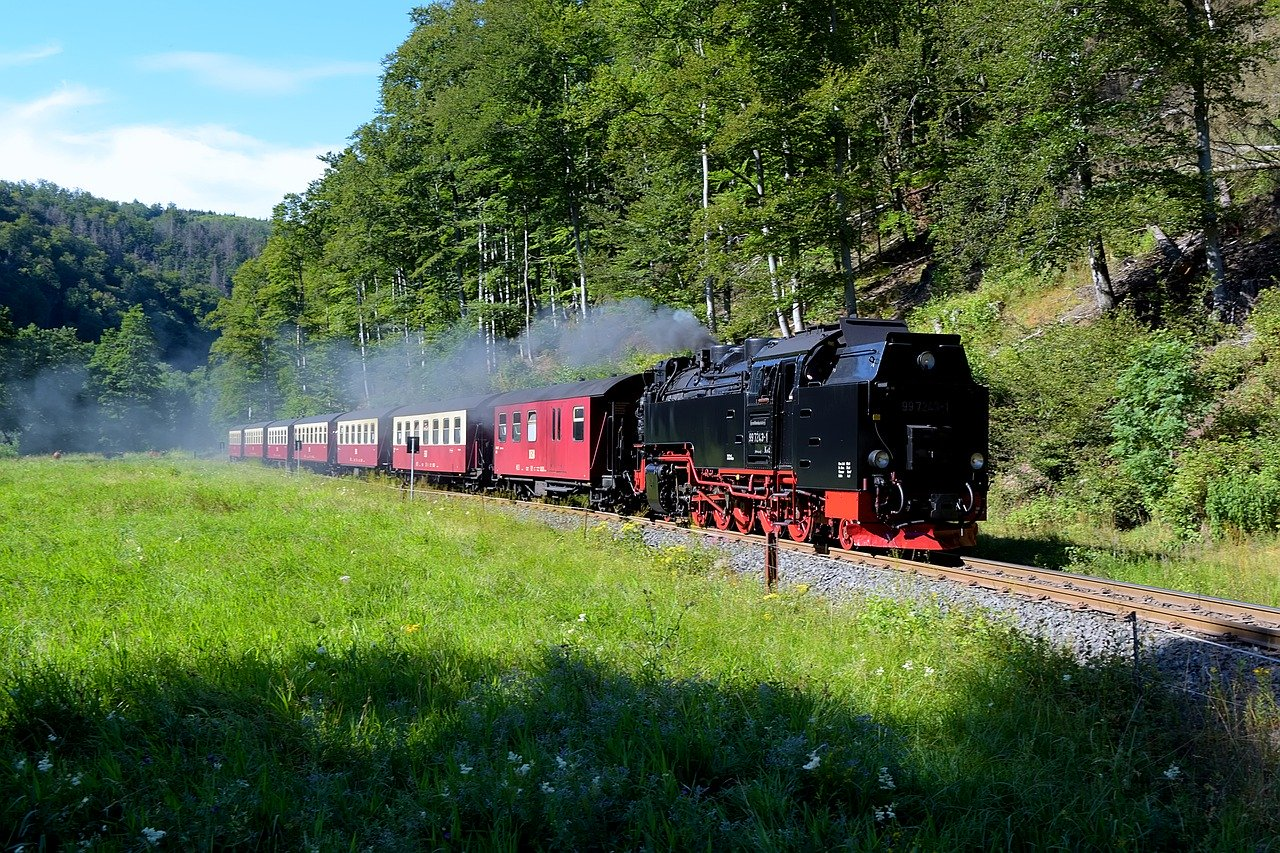 Dampflok, Harz, Schmalspurbahn
