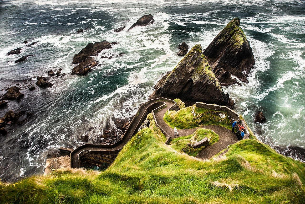 Irland, Dunquin-pier, Dingle-island