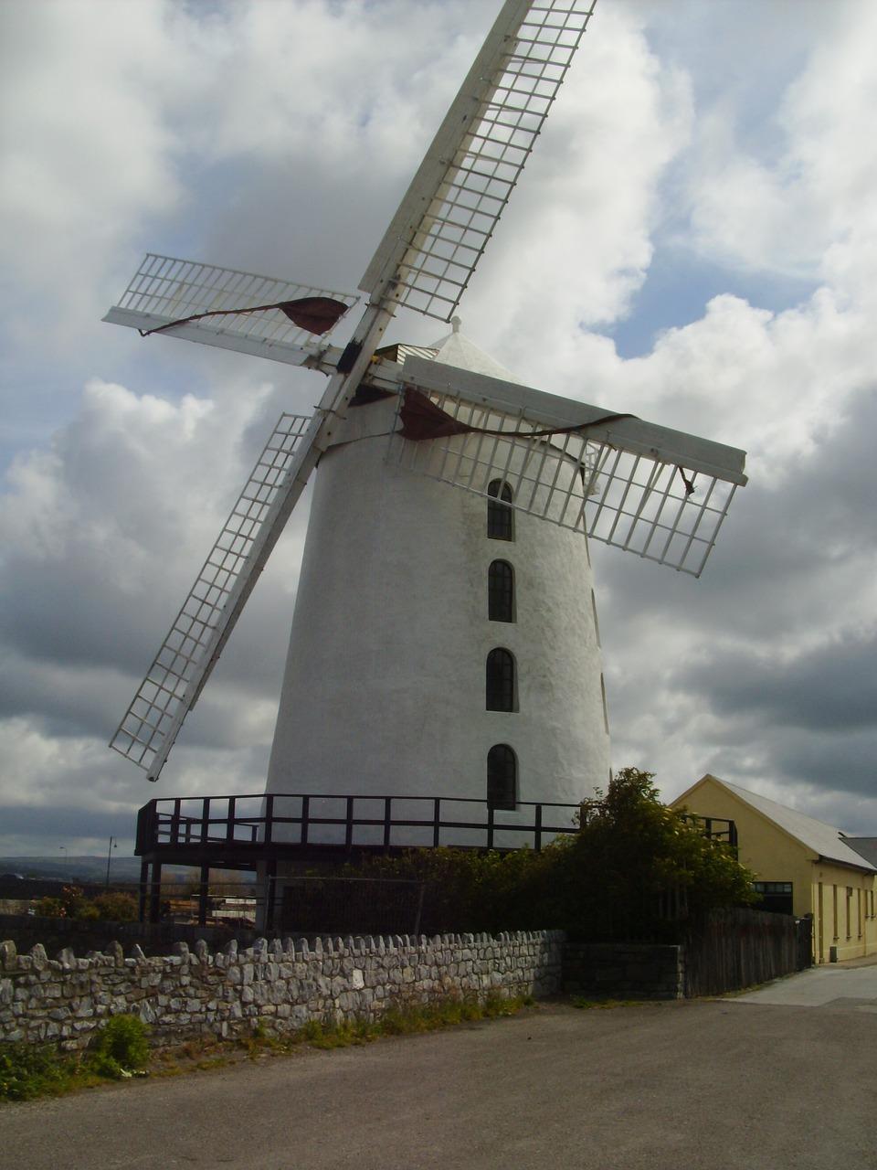Dingle, Irland, Windmühle