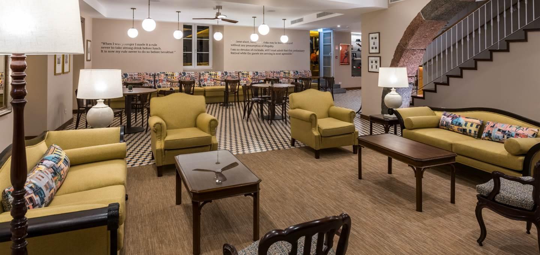 Gemütliches Lobby-Wohnzimmer