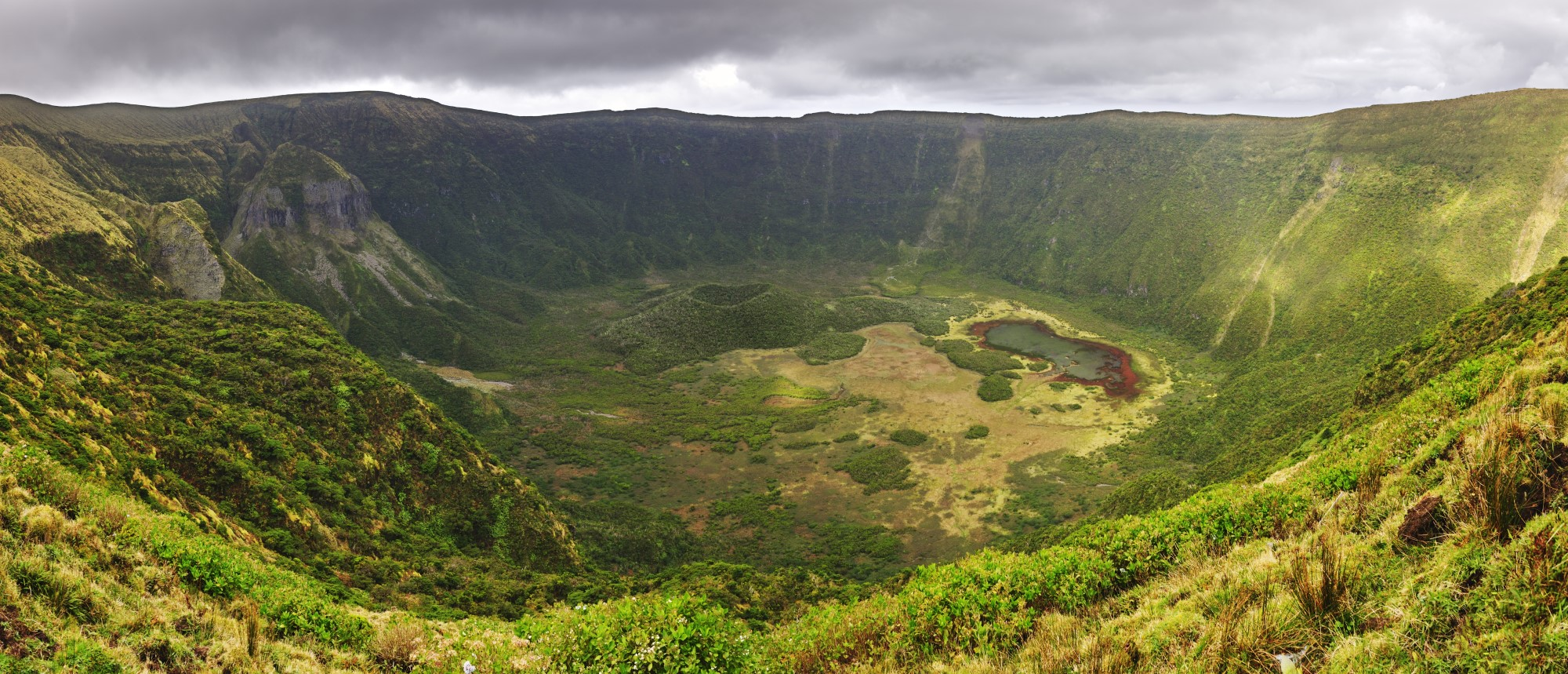 Caldeira auf Faial