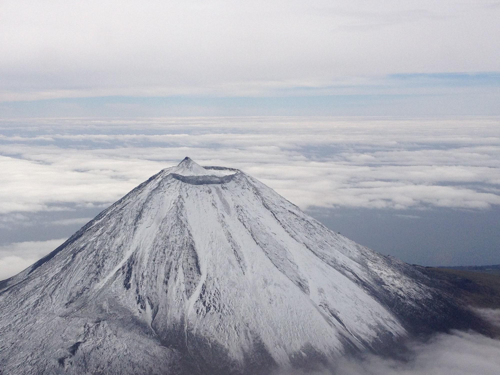 Mount Pico mit Schnee