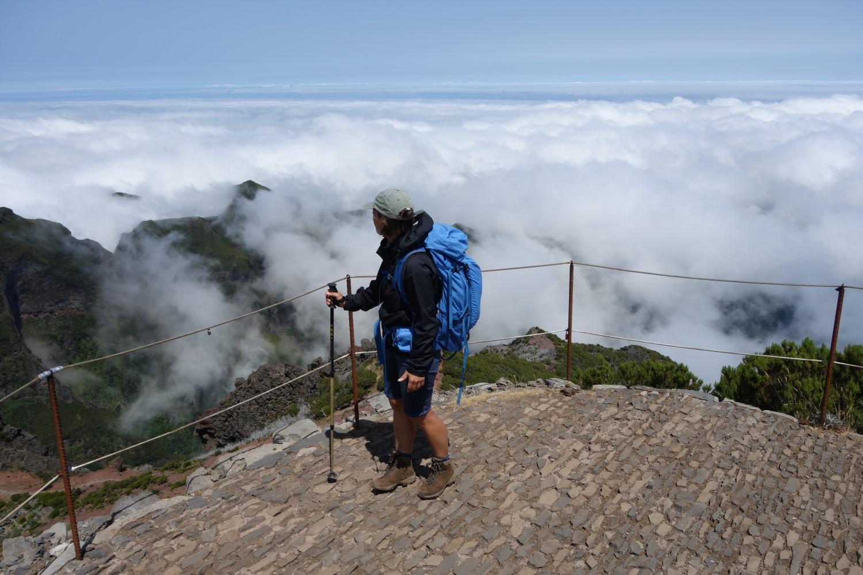 Auf dem Gipfel des Pico Ruivo