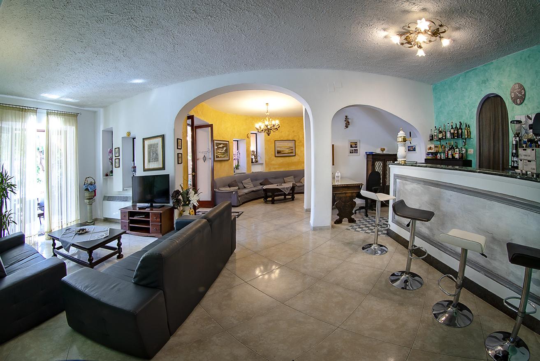 Blick in die Lobby Hotel Aragonese Ischia