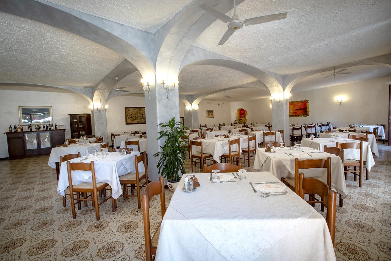 Blick ins Restaurant Hotel Aragonese Ischia