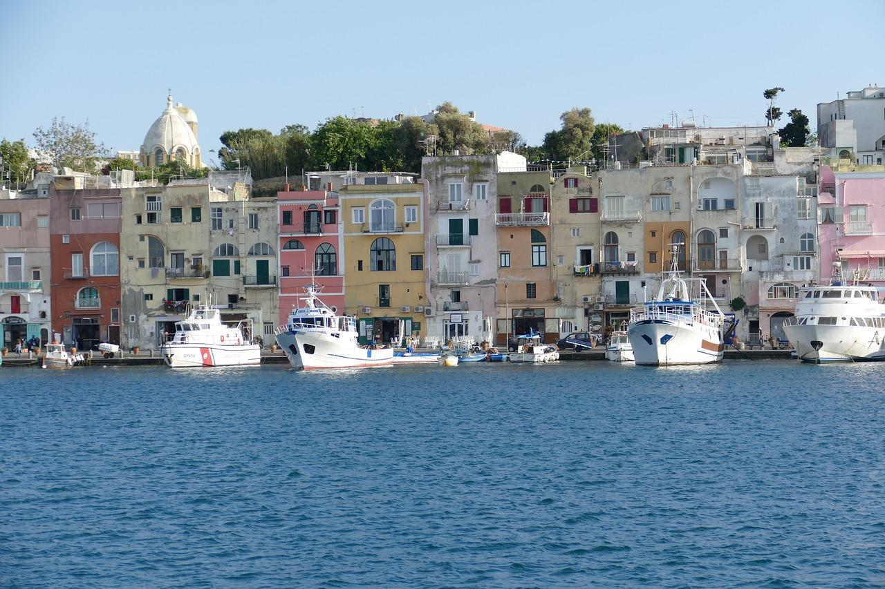 Procida, Ischia, Italien