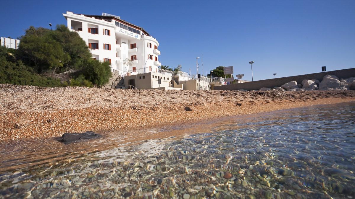 Lage direkt am Strand Hotel Bue Marino