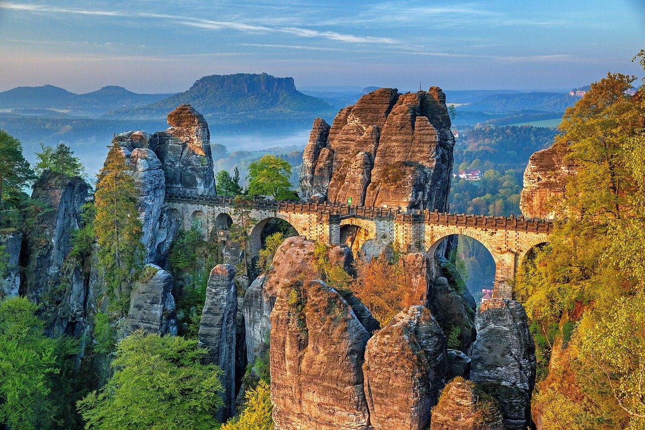 Basteibrücke, Sächsische Schweiz, Elbsandsteingebirge
