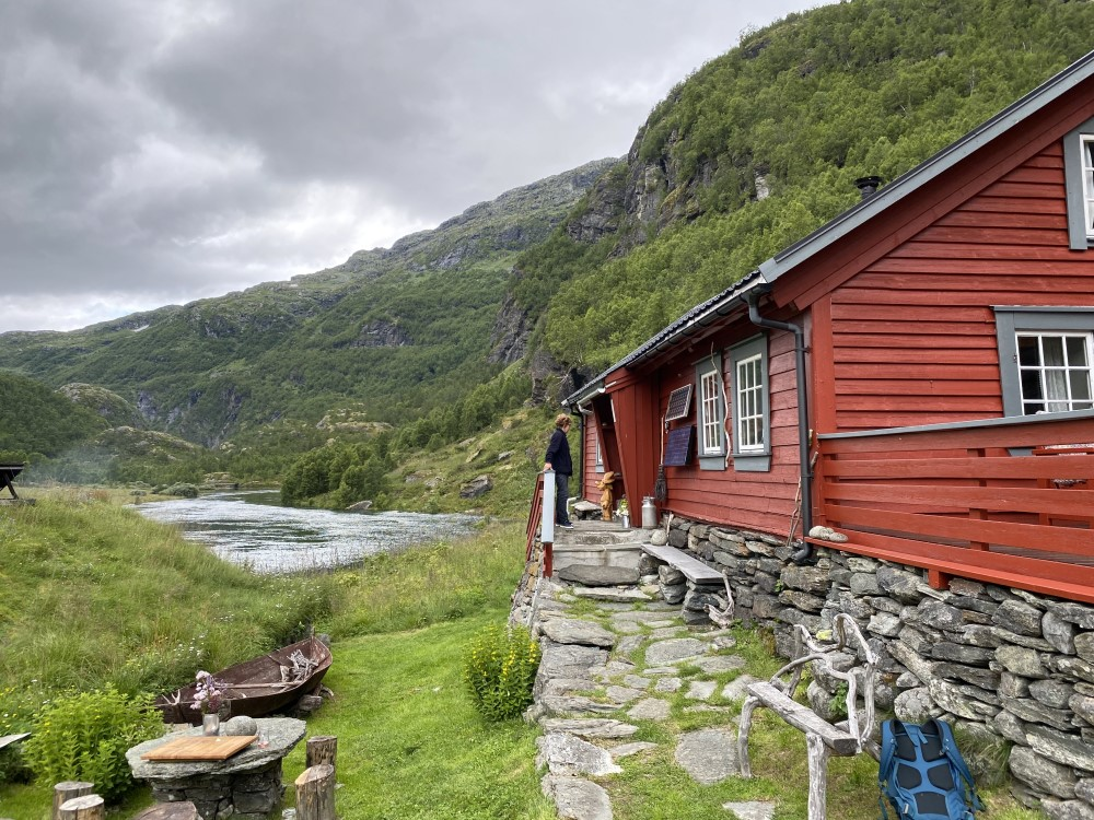 typisch norwegischer Baustil
