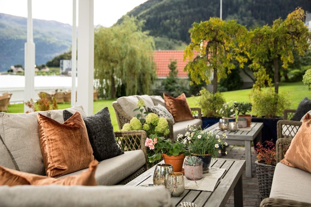Relaxing im Hofslund Fjord Hotel