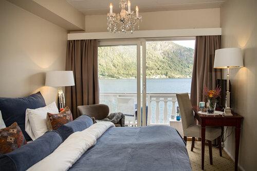 Zimmerbeispiel Hofslund Fjord Hotel